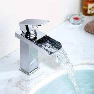 grifo lavabo de cascada