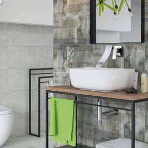 grifo para pared de baño