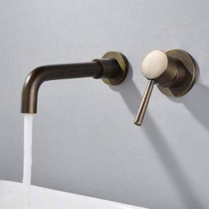 grifo mural cuarto de baño