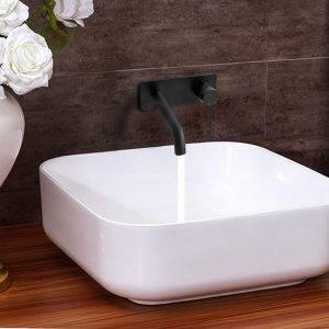 grifo de lavabo de pared