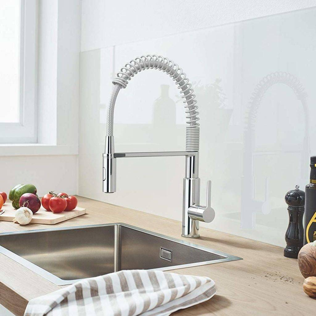grifo grohe flexible estilo hosteleria