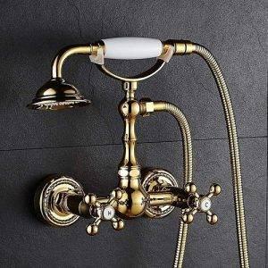 grifo dorado ducha