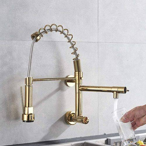 grifo flexible de pared