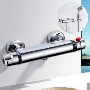 Grifería ducha termostática