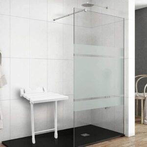 asiento de ducha abatible
