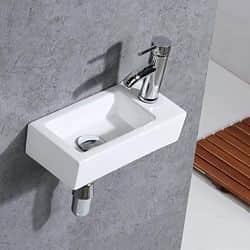 lavabo pequeño de pared