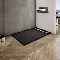 Plato de ducha rectangular negro