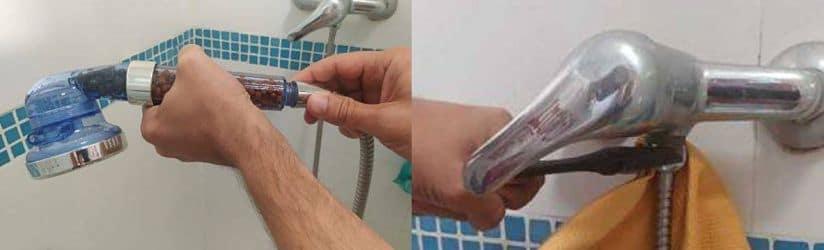Cómo cambiar alcachofa de ducha