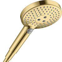Alcachofa de ducha dorada Hansgrohe